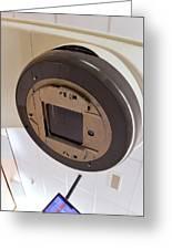 Radiotherapy Linear Accelerator Beam Window Greeting Card