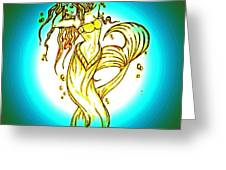 Radius Mermaid Greeting Card