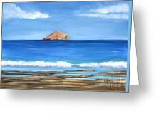 Raftis Islet Greeting Card by Kostas Koutsoukanidis