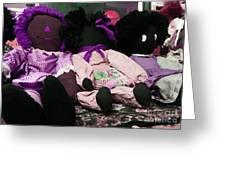 Ragged Annie Dolls Greeting Card