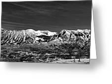 Ragged Mountain Colorado Greeting Card
