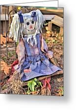 Raggedy Ann Greeting Card