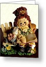 Raggedy Anne Greeting Card