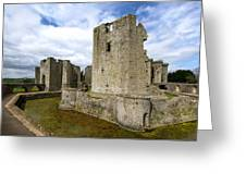 Raglan Castle - 3 Greeting Card