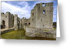 Raglan Castle - 4 Greeting Card