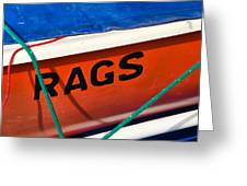 Rags Greeting Card