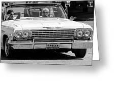 Ragtop Chevrolet Greeting Card