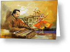 Rahat Fateh Ali Khan Greeting Card
