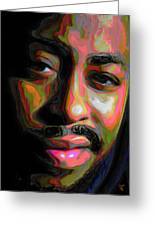 Raheem Devaughn Greeting Card