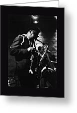 Rahsaan Roland Kirk At Penthouse Seattle 1967 Greeting Card