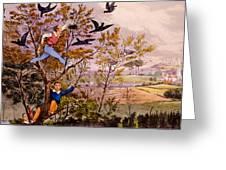 Raiding The Rook's Nest Greeting Card