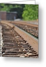 Rail Head - Dalton Georgia Greeting Card