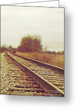 Rail Greeting Card