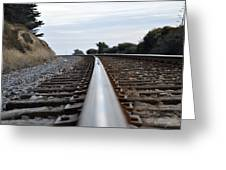 Rail Rode Greeting Card