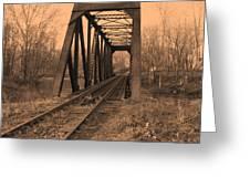 Railbridge Greeting Card