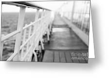Railings Greeting Card