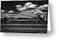 Railroad Gravel Car Greeting Card