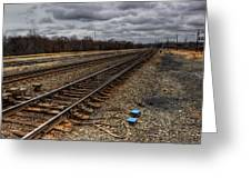 Railroad Interlocking Greeting Card