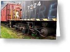 Railroad Retirement Greeting Card
