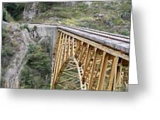 Railway Bridge Greeting Card