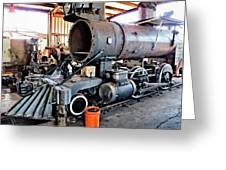 Railyard 13 Greeting Card