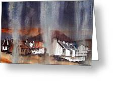Rain Fall On Dooagh Achil Greeting Card