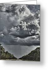 Rain In The Distance Greeting Card