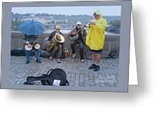 Rain Or Shine Greeting Card
