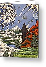 Stormy Noon Greeting Card