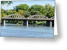 Rainbow Arch Bridge Greeting Card