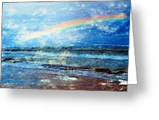 Rainbow At Skagen Greeting Card