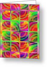 Rainbow Bliss 3 - Over The Rainbow V Greeting Card