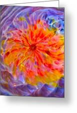 Rainbow Coronal Greeting Card