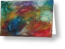 Rainbow Dreams By Madart Greeting Card