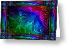 Rainbow Fantasy Greeting Card