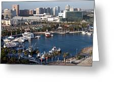 Rainbow Harbor Long Beach Greeting Card
