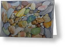 Rainbow In Stone Greeting Card