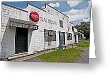 Rainbow Inn Cajun Dance Hall Greeting Card