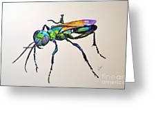 Rainbow Insect Greeting Card