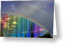 Rainbow Landscape Greeting Card