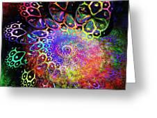 Rainbow Leopard Greeting Card