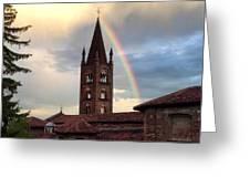 Rainbow Greeting Card by Niki Mastromonaco