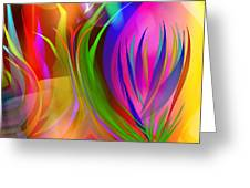 Rainbow Of Thoughts Greeting Card