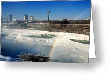 Rainbow Over Canada Greeting Card