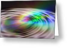 Rainbow Plunge Greeting Card