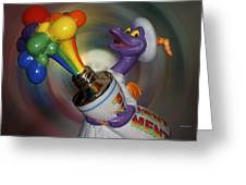Rainbow Squirt Greeting Card