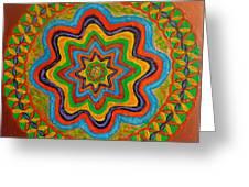 Rainbow Star Greeting Card