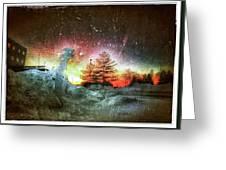 Rainbow Sunset Greeting Card