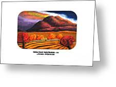 Rainbow Sunset Sandia Mtns Greeting Card