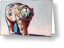 Rainbow Warrior-ice Bear Greeting Card